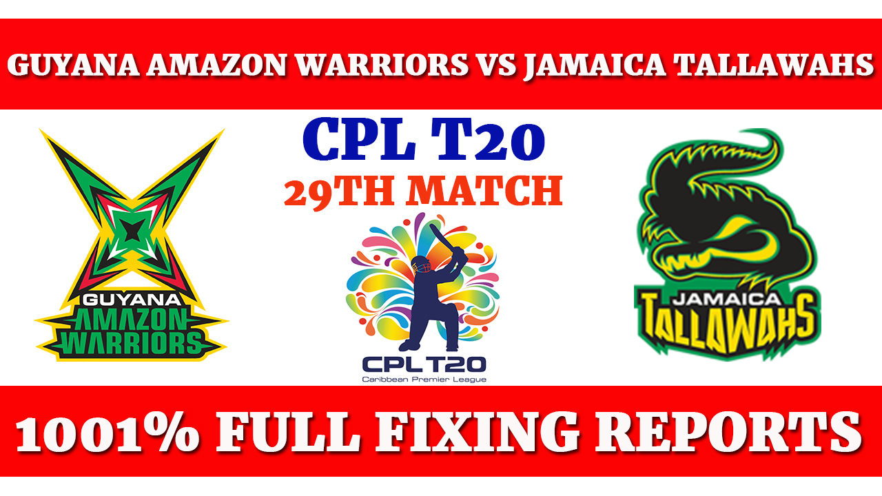 Open Post, Guyana Amazon Warriors vs Jamaica Tallawahs