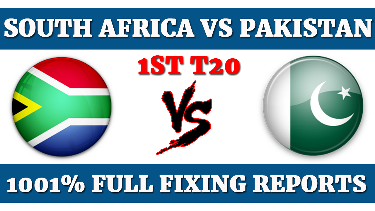 1st T20 South Africa vs Pakistan