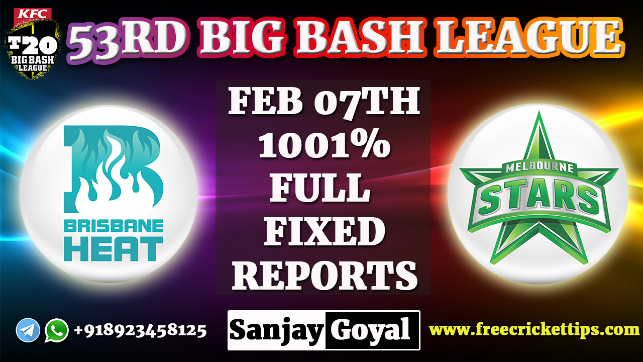 Brisbane Heat vs Melbourne Stars