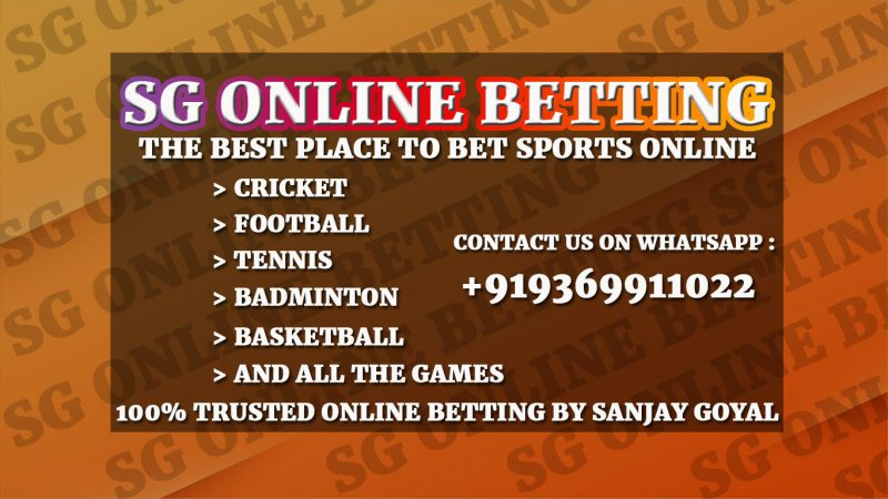 SG Online Betting in India