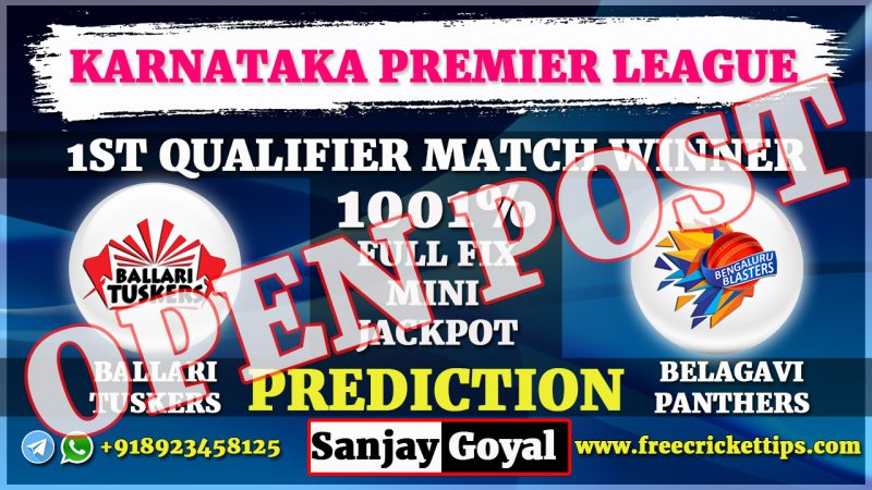 Bellary Tuskers vs Belagavi Panthers