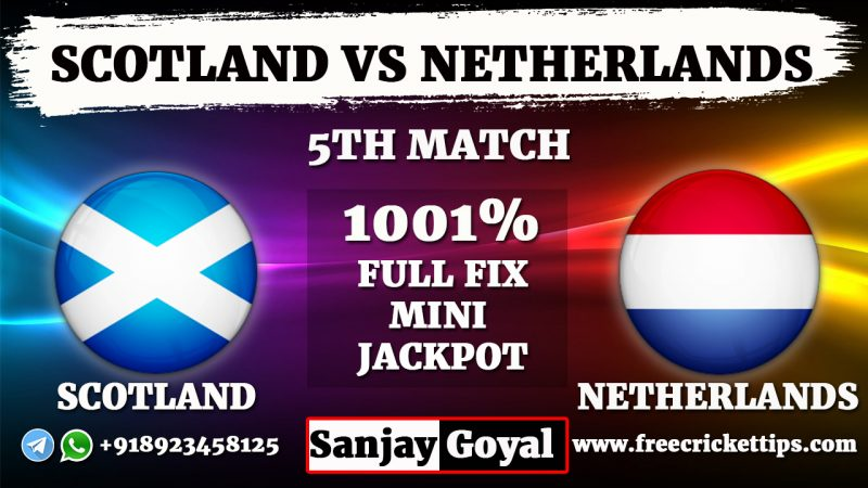 Scotland vs Netherlands