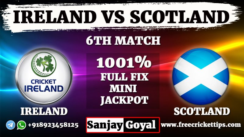 Ireland vs Scotland