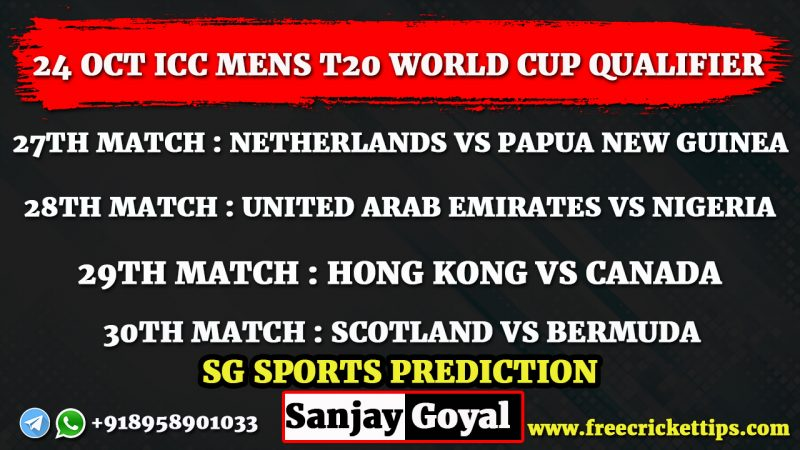 ICC Mens T20 World Cup Qualifier