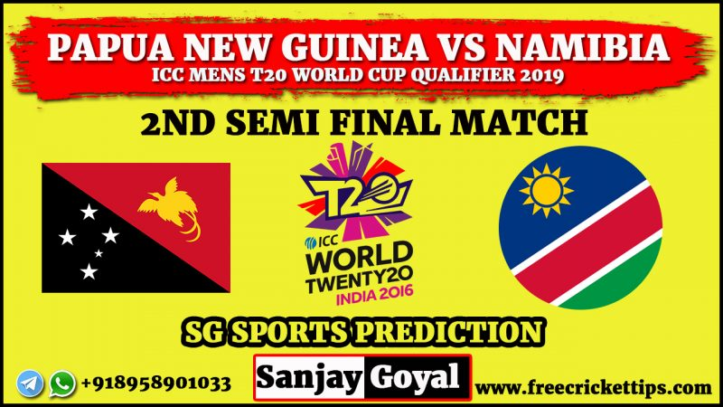 Papua New Guinea vs Namibia