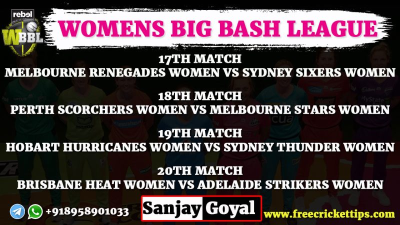 Womens Big Bash League